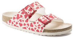 Birkenstock Arizona Mf Hearts Red - 36 (UK 3)