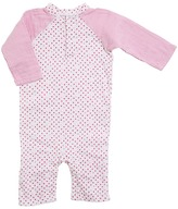 Aden Anais aden + anais - Long Sleeve Henley One-Piece Girl's Jumpsuit & Rompers One Piece
