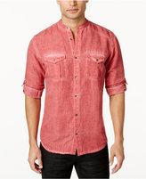 INC International Concepts Men's Fuji Slub Denim Shirt, Only at Macy's