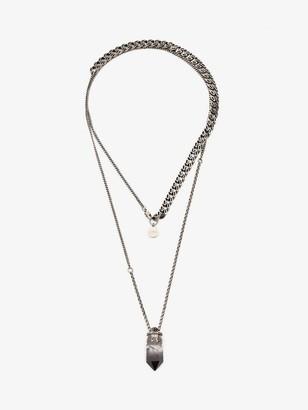 Alexander McQueen Small Quartz Necklace