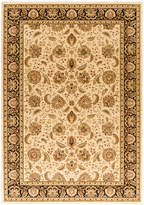 "Kenneth Mink Closeout! Area Rug, Warwick Kashan Wheat/Black 5'3"" x 7'7"""