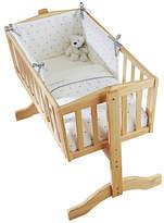 Clair De Lune Lullaby Hearts Crib Bedding Set