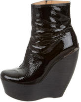 Platform Wedge Ankle Boots - ShopStyle