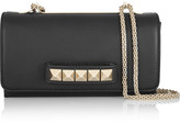 Valentino Va Va Voom Leather Shoulder Bag - Black