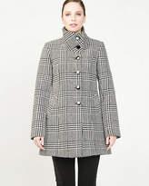 Le Château Wool Blend Glen Check Coat