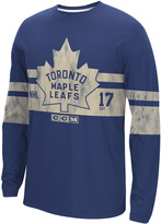 Reebok NHL Long Sleeve Crew Tee - Toronto Maple Leafs