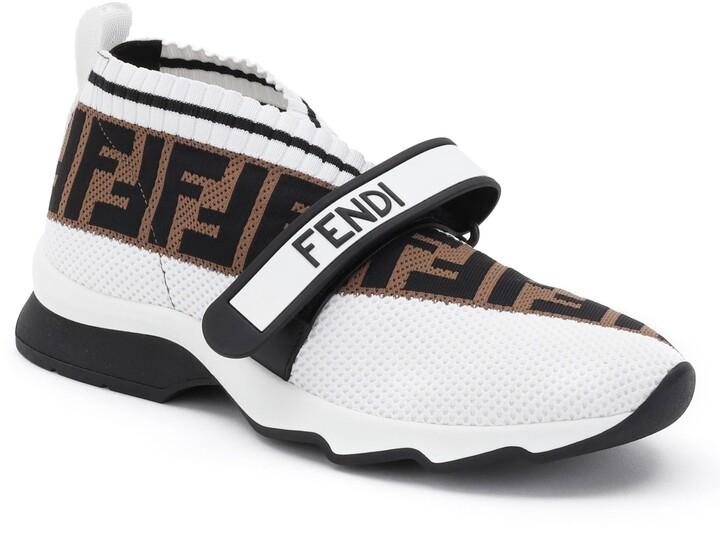 Fendi Rockoko Knit Sneakers - ShopStyle
