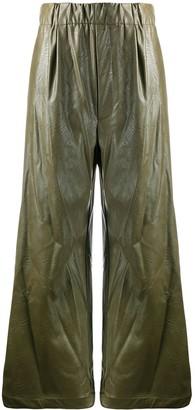 Jejia High-Rise Wide Leg Trousers