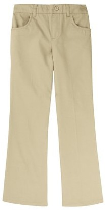 French Toast Toddler Girls School Uniform Pull-On Twill Bootcut Pants