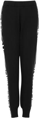 Stella McCartney Black Logo Cotton Sweatpants