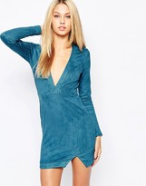 Missguided Long Sleeve Body-Conscious Dress
