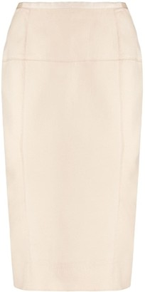 Nina Ricci Pre-Owned Reverse Seam Skirt