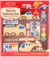 Melissa & Doug Kids' Rescue Vehicles Set