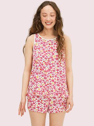 Kate Spade Marker Floral Short PJ Set