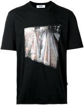 MSGM printed T-shirt - men - Cotton - M