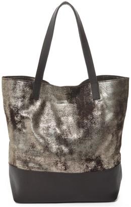 Carla Mancini Keria Metallic Leather Tote