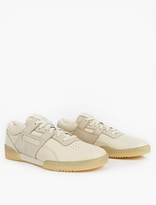 Reebok WORKOUT LO CLEAN BS CREME/WASHED YELLOW