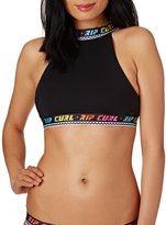 Rip Curl Surf Geo Hi Neck Crop Bikini Top