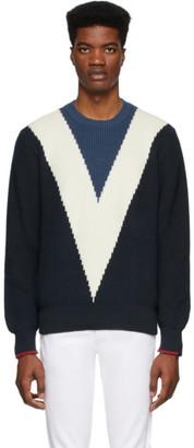 Rag & Bone Navy Emory Sweater