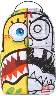 Sprayground Sponge Bob Printed Canvas Backpack