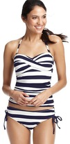 LOFT Nautical Stripe Twist Tankini Top