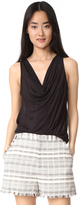 Three Dots Drape Tank