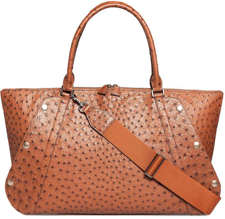 Akris Aimee Medium Ostrich Satchel Bag