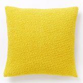 Cozy Boucle Pillow Cover - Citrus Yellow