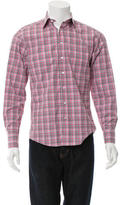Thomas Pink Slim Fit Button-Up Shirt