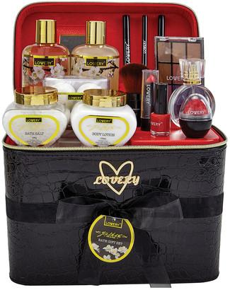 Lovery Premium Bath And Body Gift Basket 30Pc Set