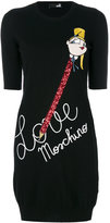 Love Moschino knitted dress - women - Polyamide/Viscose/Cashmere/Virgin Wool - 40
