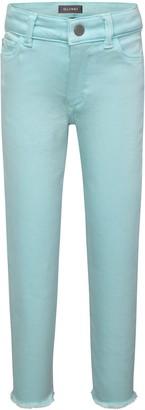 DL1961 Chloe Raw Hem Skinny Jeans