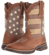 Durango Rebel 10 Faded Glory (Brown/Patriotic) Women's Boots