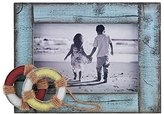 Lawrence Frames 4x6 Weathered Blue with Life Rings Picture Frame