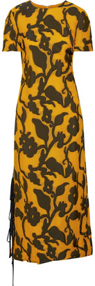 Prabal Gurung Printed Woven Midi Dress