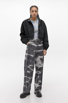 Urban Outfitters Cropped Utility Jacket