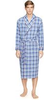 Ralph Lauren Plaid Shawl-collar Robe