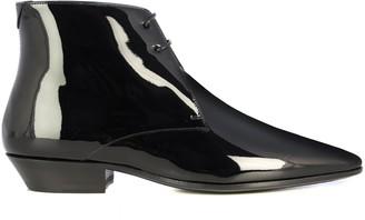 Saint Laurent Jonas Laced Ankle Boots