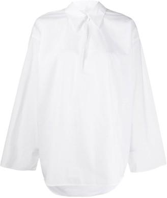 MM6 MAISON MARGIELA oversized tunic shirt