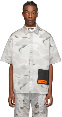 Heron Preston Multicolor Camo Pocket Shirt