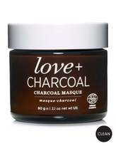 One Love Organics Love + Charcoal Masque, 2.1 oz./ 60 g