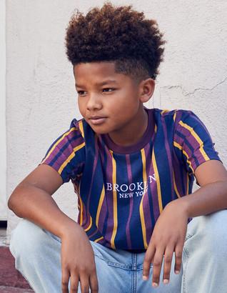 SHOUTHOUSE Brooklyn Stripe Boys T-Shirt