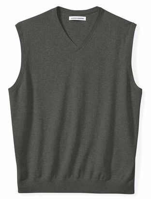 Amazon Essentials Men's Big & Tall V-Neck Sweater Vest