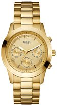 GUESS Gold-Tone Feminine Contemporary Watch