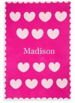 Tadpoles TadpolesTM by Sleeping Partners Ultra-Soft Knit Hearts Blanket in Pink/White