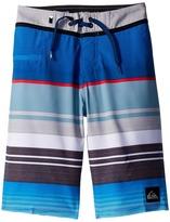 Quiksilver Everyday Stripe Vee Boardshorts (Big Kids)