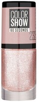 Maybelline Color Show Glitter Nail Polish 232 Rose Chic 7ml