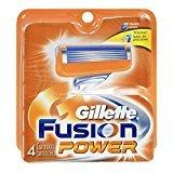 Gillette Fusion Power Blades - 4 CT