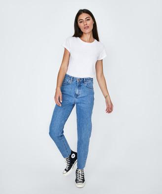 Neuw Lola Mom Zero Jeans Uptown Blue
