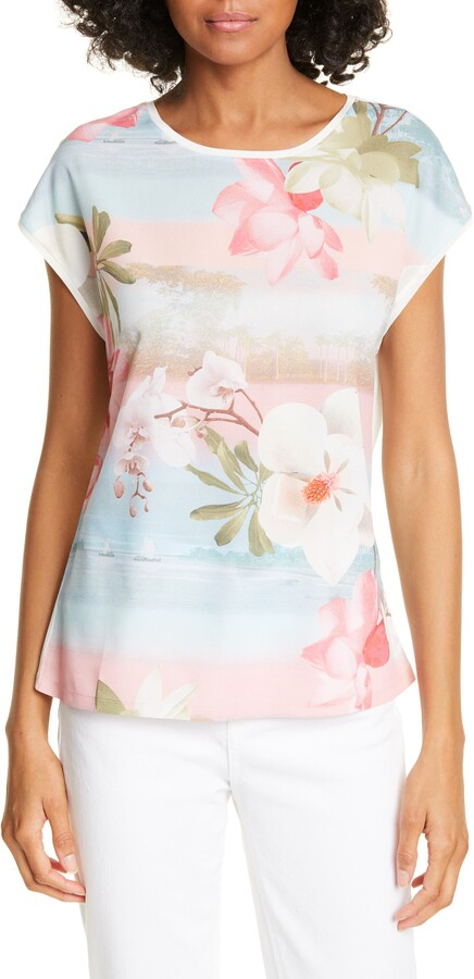 Ted Baker Larnah Floral Front Top